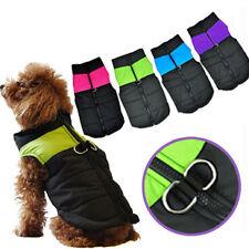 Dog Jacket Padded Waterproof Winter Coat Warm Pet Windbreaker Clothes Puppy Vest