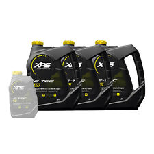 Ski-Doo Can-Am Sea-Doo Xps New Oem 2-Stroke Synthetic Oil Gallon Case, 779127