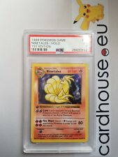 PSA 1 Poor Ninetales 1st Edition Base Holo Shadowless Pokemon Game 1999 WOTC