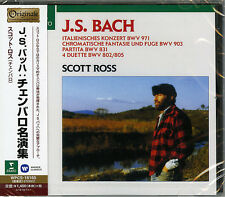 SCOTT ROSS (CEMBALO)-J.S.BACH: ITALIAN CONCERTO-JAPAN CD C68