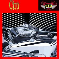Ciro Chrome Cylinder Base Cover for Harley 2007-2016 Road Glide  Ciro 70100