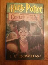 HARRY POTTER AND THE GOBLET OF FIRE - First American Edition, JK Rowling, Nice!