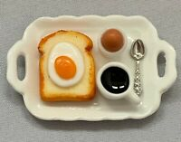 Dolls House Miniature 1/12th Scale Representation of a Breakfast Tray SK070 Food