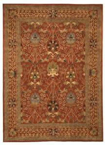 Rust Traditional Morris Rug