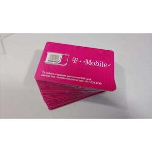 T-MOBILE Triple SimCard MINI MICRO NANO GSM 4G LTE TRIO - Activate by DEC 2021