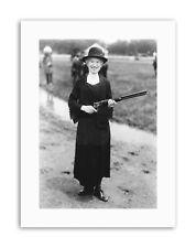 ANNIE OAKLEY RIFLE BUFFALO BILL USA Vintage Canvas art Prints