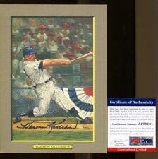 Harmon Killebrew Signed Perez-Steele Great Moments Card Autographed PSA/DNA