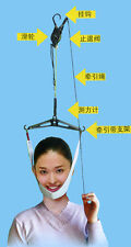 Cervical Neck Traction Chiropractic Over Door Disc Back Care/Support Stretcher