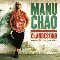 MANU CHAO - CLANDESTINO NEW VINYL RECORD