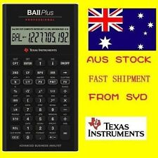 Texas Instruments-TI BA II Plus Professional Financial Calculator *Brand New*