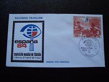 POLYNESIE FRANCAISE - enveloppe 1er jour 27/4/1984 (B7) (A)