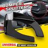 Car Front Deflector Spoiler Splitter Diffuser Bumper Canard Lip Body Kit