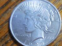 1923-P Peace Silver Dollar (Seller's # 431)