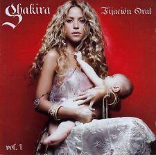 Shakira: FIJACION oral vol. 1/CD + DVD (Epic EPC 520162 3)