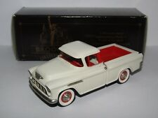 BROOKLIN MODELS 1955 CHEVROLET CAMEO PICK UP TRUCK CREAM 1/43 BRK53