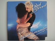 ROD STEWART, BLONDES HAVE MORE FUN, 1978 VINTAGE LP RECORD, BSK-3261 WARNER BRO