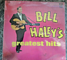 "Bill Haley-Bill Haley's Greatest hits rare 12"" vinyl LP Seeyou plus tard Alligator"