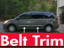 toyota SIENNA CHROME BELT TRIM 2004 05 06 07 08 09 all