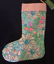 Lilly Pulitzer Christmas Stocking NWT