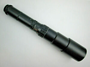 Spiratone Telephoto f=400mm 1:6.3 Lens Screw Mount 42mm Threads on Camera End