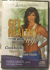 NEW Get Healthy Cookbook coaching and exercise guide CD 2 disc set amen solution