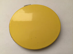 FORD KA FRONT BUMPER TOWING HOOK EYE COVER CAP  YELLOW (F257)