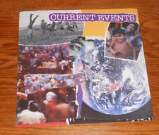 Current Events Poster Flat Square Promo 12x12 World Blue Marble