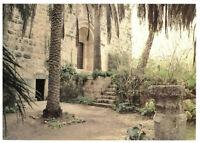 Monastere de la Resurrection: Doors, Abu-Gosh, Israel, Palestine Rare Postcard