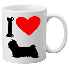 I love shi tzu chiens sur une tasse de qualité Grand 11oz. Nouveauté Tasse.