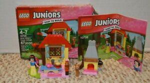 Lego Juniors Disney Princess Snow White's Forest Cottage Complete
