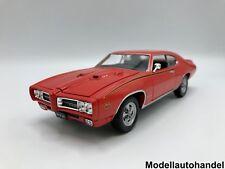 Pontiac GTO The Judge 1969-Orange - 1:24 Welly