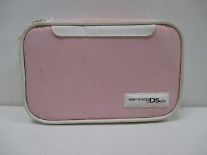 DS -- HORI Compact Pouch DS Lite - Light Pink -- Nintendo DS Lite, JAPAN. 47133