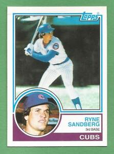 RYNE SANDBERG Singles, Inserts, & Parallels (with Pictures) / You Pick The Cards
