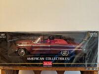 Sun Star American Collectibles Die-cast 1:18 New 1963 Ford Galaxie 500XL Convert
