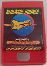 Blockade Runner for Intellivision by Interphase Clean Tested Authentic Cart Only