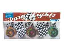 Camco Set of 10 Race Car & Flag Patio Lights for RV / Camper
