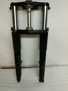 Harley Davidson Touring black 49mm Front End, Triple Trees Forks 14-20
