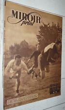 MIROIR SPRINT 15-04 1947 #47 FOOTBALL BOXE CYCLISME RUGBY FINALE TOULOUSE AGEN