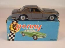 Politoys Penny ca. 1/66 Nr. 0/29 Maserati 3500 GT Coupe graumetallic OVP 2 #118