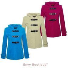 Cappotti e giacche da donna casual in lana con bottone automatico