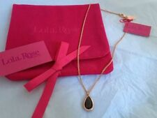 Pear Rose Gold Plated Costume Necklaces & Pendants