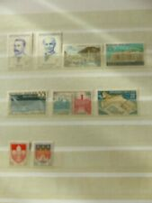 LOT 9 TIMBRES NEUFS  ANNEE 1958