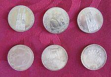Monete - 5 DM - 6 pezzi