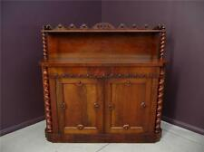 Antique ROSEWOOD early Victorian Dining Sideboard Chiffonier  resawreck-antiques