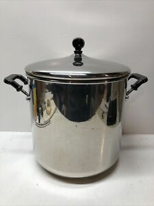 Farberware Classic Series 11 QT Covered Stainless Steel Stockpot with Lid