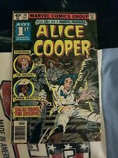 MARVEL PREMIERE #50 ALICE COOPER 1ST COMIC APP. BRONZE AGE MARVEL COMICS 1979