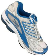 Reebok Women's 7 DMX Running Athletic Sneakers Shoes White Blue Silver