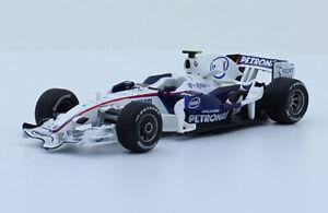 BMW Sauber F1.08 Robert Kubica 2008 Rare Formula 1 F1 Diecast Car 1:43+Magazine