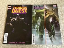 Thanos Quest One-Shot & Thanos Legacy #1 Variant - Avengers Endgame - NM