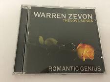 Romantic Genius - The Love Songs,Artist - Warren Zevon 0014431731624 MINT